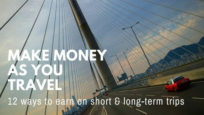 make money save money as you travel