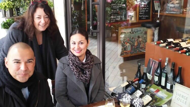 photo, image, paris wine shop, solo bleisure travel