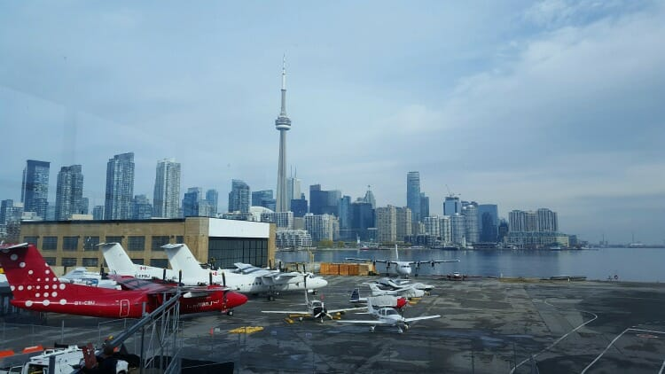 photo, image, billy bishop airport, solo bleisure travel