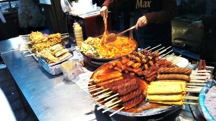 photo, image, street food, seoul, south korea