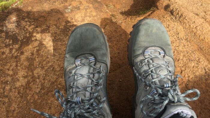 I love my hiking boots. I bought them in the Lake District of England. I walked out of the store and started hiking in them and they never gave me a problem.