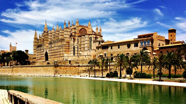 photo, image, cathedral, mallorca, when you can't travel