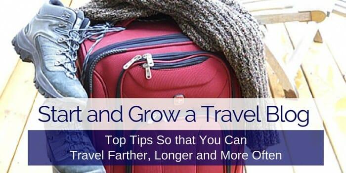 grow a travel blog