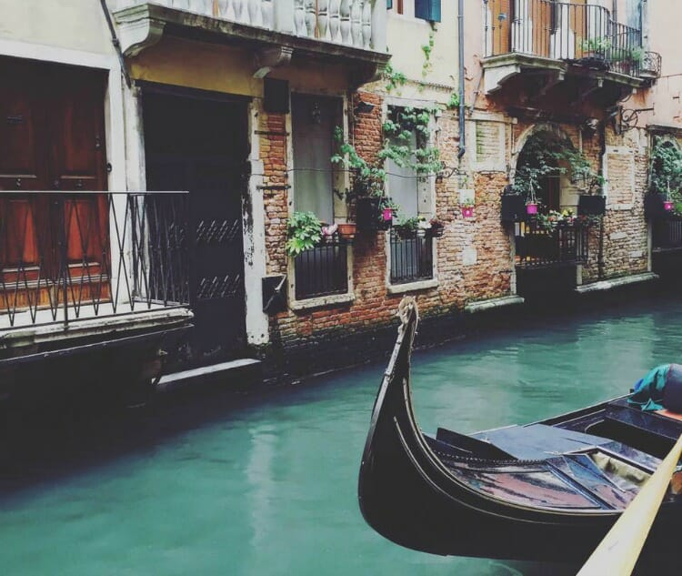 photo, image, canal in venice, italy