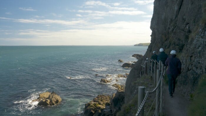 Walking the Gobbins