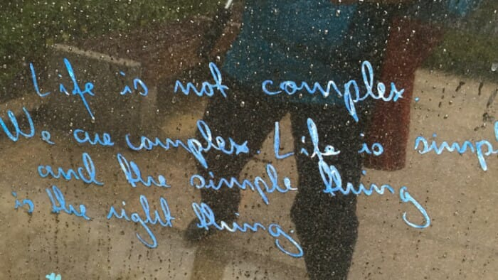 Oscar Wilde Quotes Life is not complex.