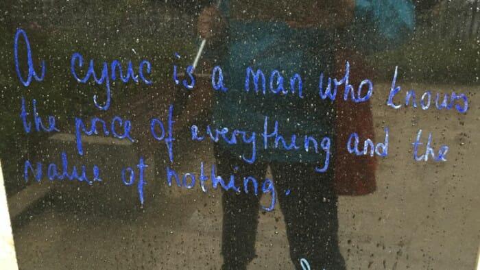 Oscar Wilde Quotes a cynic