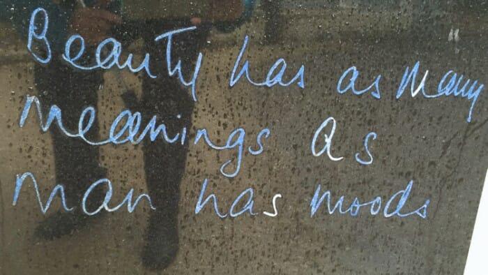 Oscar Wilde Quote Beauty