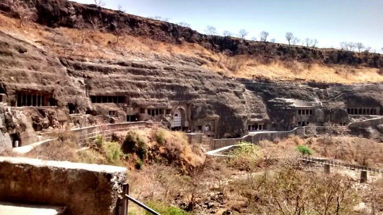photo, image, ajanta and ellora caves, india