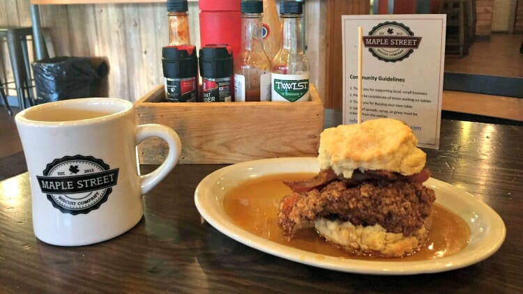 photo, image, breakfast, maple street biscuit company, jacksonville, florida