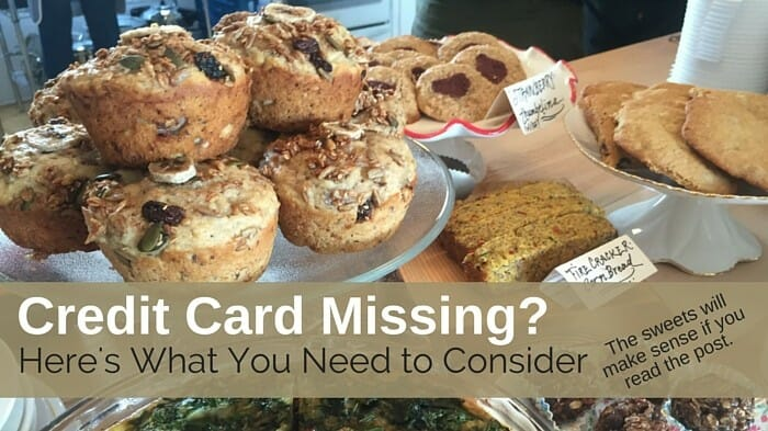 Credit Card Missing