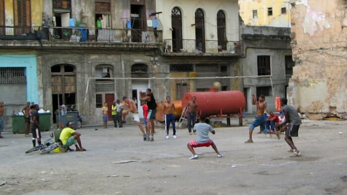 Children playing baseball in Havana. At first seeing parts of the city in poor repair was intimidating. But with patience, I learned to reinterpret scenes like this. They have a different meaning in Havana than in North America. I went to Havana solo, didn't love it and then... LOVED it.