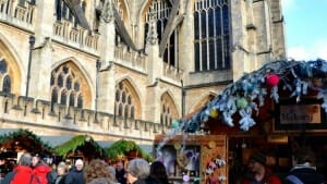 Solo Travel Destination: Bath Christmas Market, England