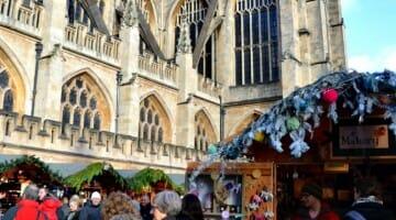 Solo Travel Destination: Bath Christmas Market, England