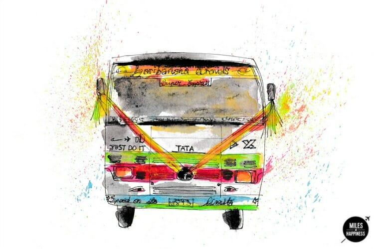 photo, image, bus, images of nepal