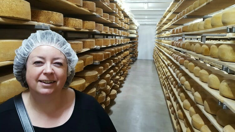photo, image, hairnet, oxford county cheese trail