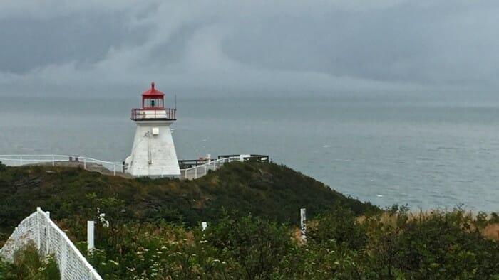Cape Enraged Lighthouse Zip Line Restaurant $6