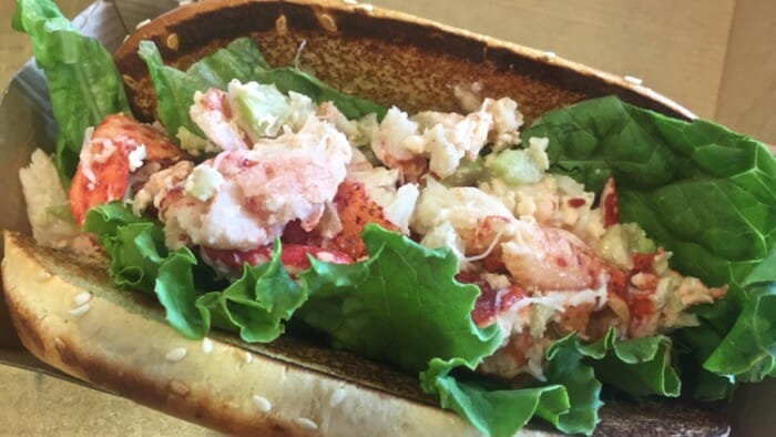 From the first lobster roll I had (at McDonald's of all places) just a few minutes out of the airport I was a smiling fool.