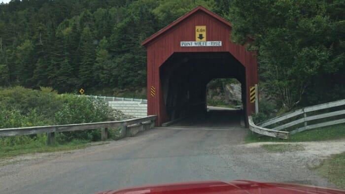New Brunswick Covered Bridge