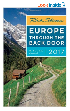I used this book for my 10-month, European adventure. Here it is updated for 2017. Highly recommended.