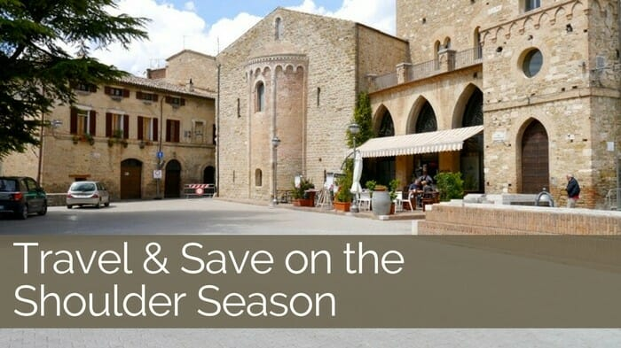save on shoulder season travel