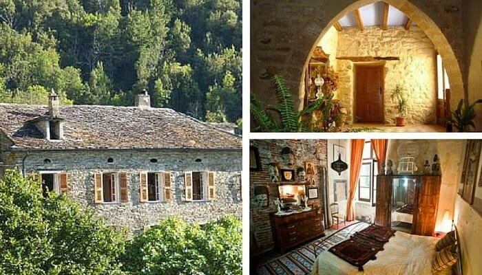 A few of the very special Homestay options. Top right and clockwise we have a courtyard in This home's courtyard in Ubeda Spain, a room in a 16th Century Renaissance Period Palazzo in Genoa, Italy and a Restored 19th Century home in Corsica.