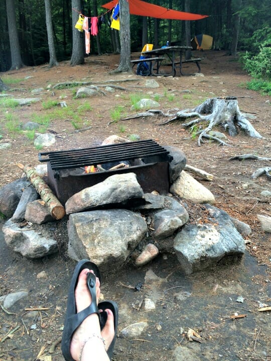 photo, image, campfire, solo camping trip