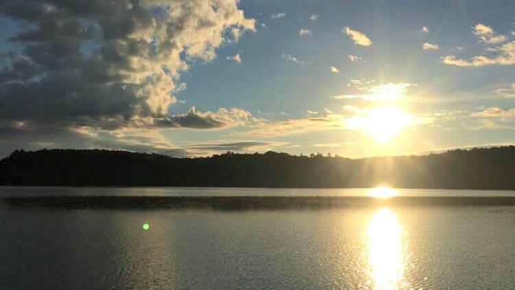 photo, image, sunrise, solo camping trip