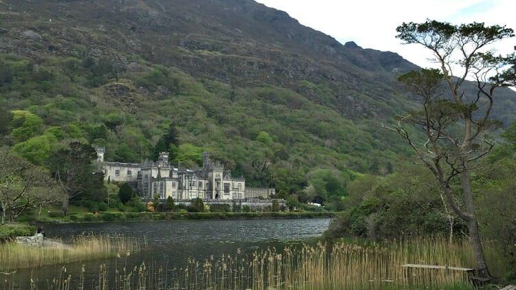 photo, image, kylemore abbey, connemara, ireland