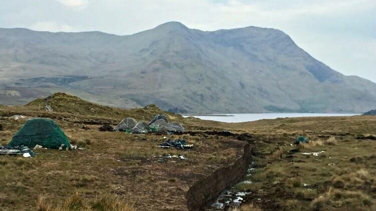 photo, image, bog, connemara, ireland