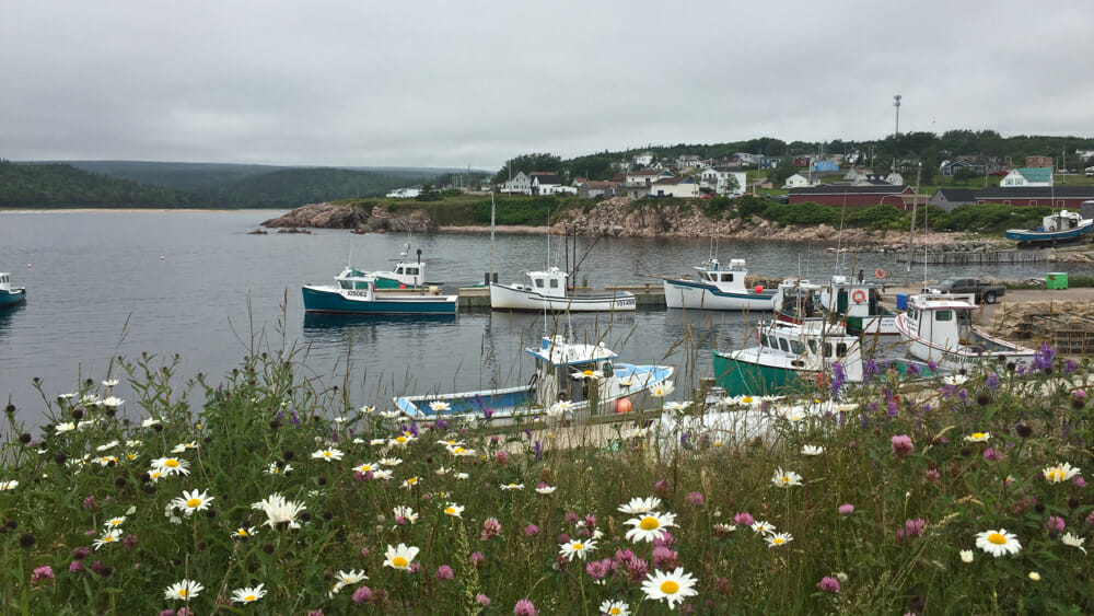 Beautiful Neil's Harbour.