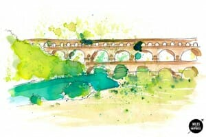 Solo Traveler Artist in Residence: Images of Provence