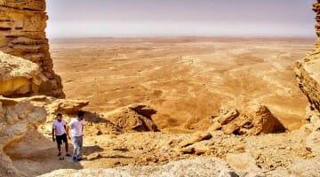 photo, image, edge of the world, riyadh, saudi arabia