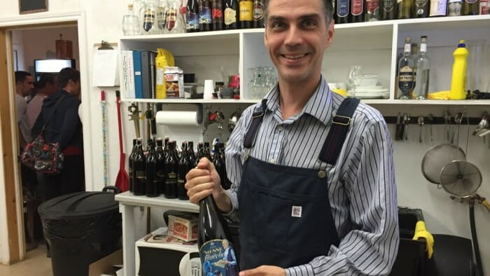 Sébastien Roy, owner of Distillerie Fils du Roy.