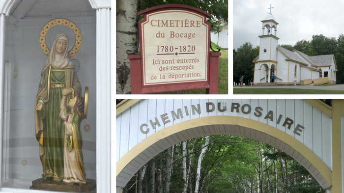 Sainte-Anne-du-Bocage was built in 1840 on the site of the first church in Caraquet.