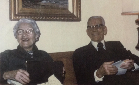 My grandmother created a good lfe for herself. This is her and my grandfather on their 50th wedding anniversary.