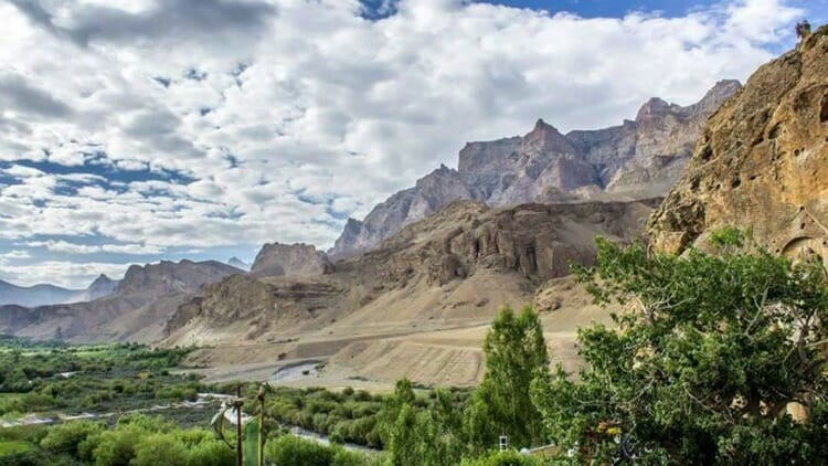 photo, image, mountains, mulbekh, india