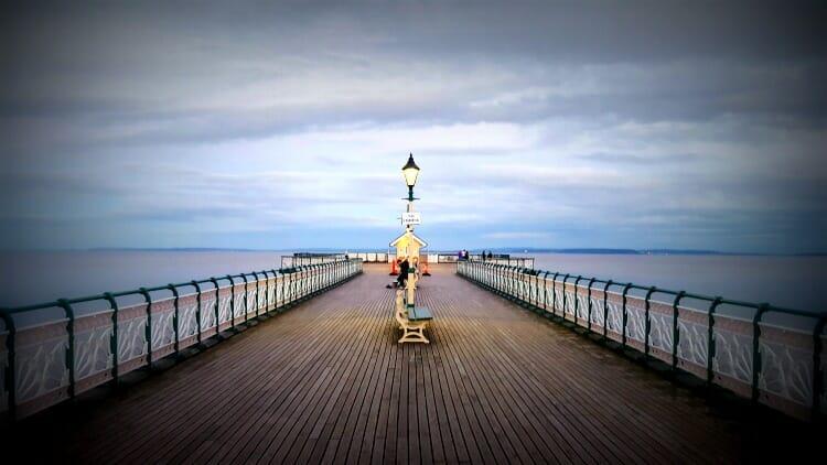 photo, image, pier, penarth, wales