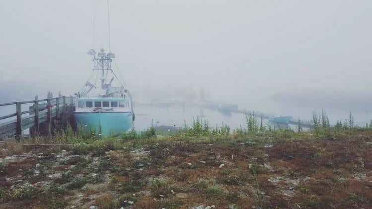 photo, image, boat, wedgeport, nova scotia