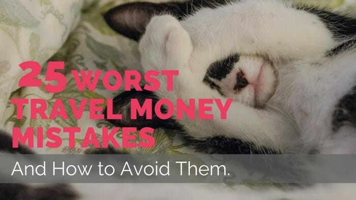 travel money mistakes