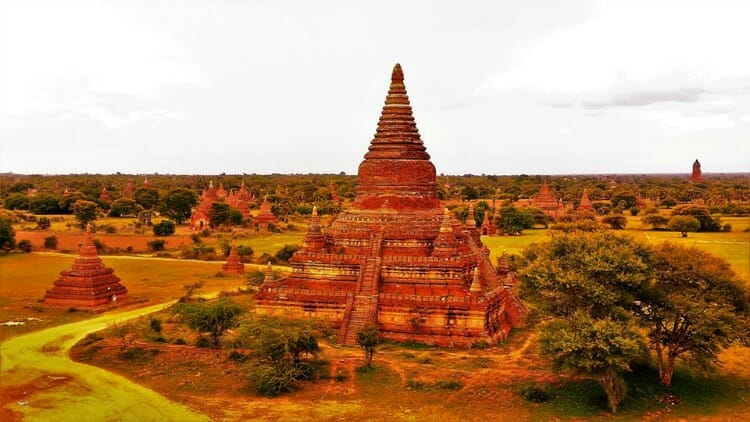 photo, image, temple, bagan, myanmar