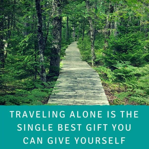The Gift of Solo Travel