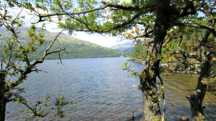 photo, image, loch lomond, west highland way, scotland