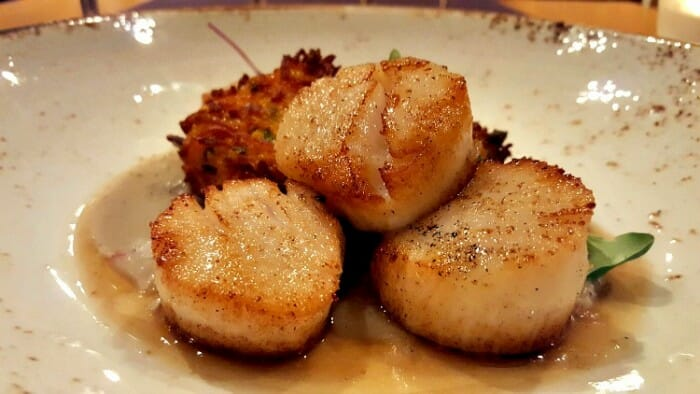 photo, image, scallops, le caveau, flavors of nova scotia