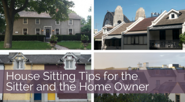 Free Accommodation: House Sitting Tips for Sitters and Home Owner