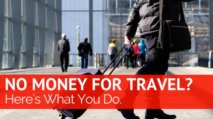 no money to travel