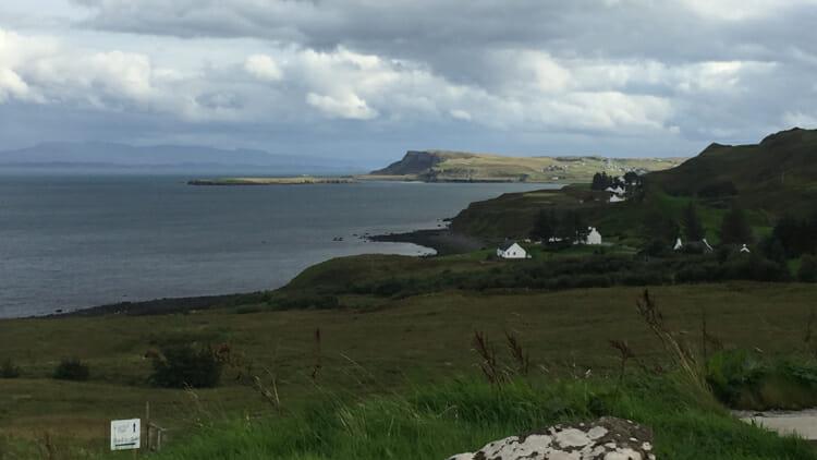 photo, image, Flodigarry, isle of skye without a car