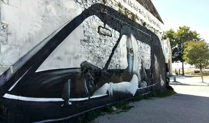 photo, image, graffiti, la rochelle, france