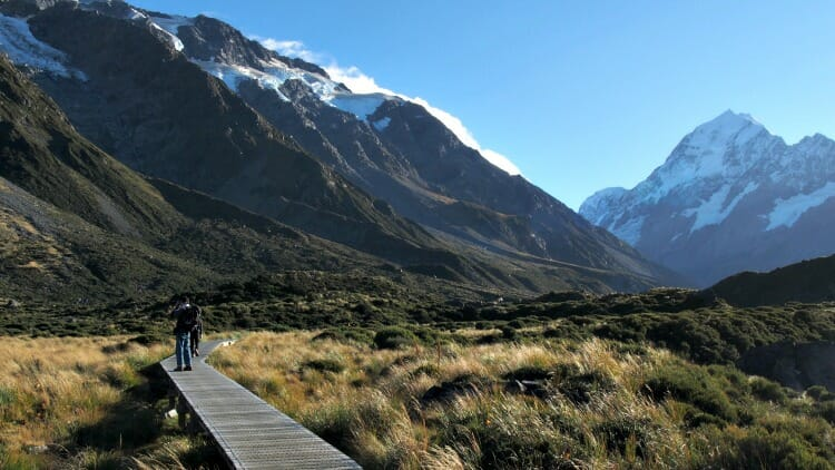 photo, image, mount cook national park, new zealand
