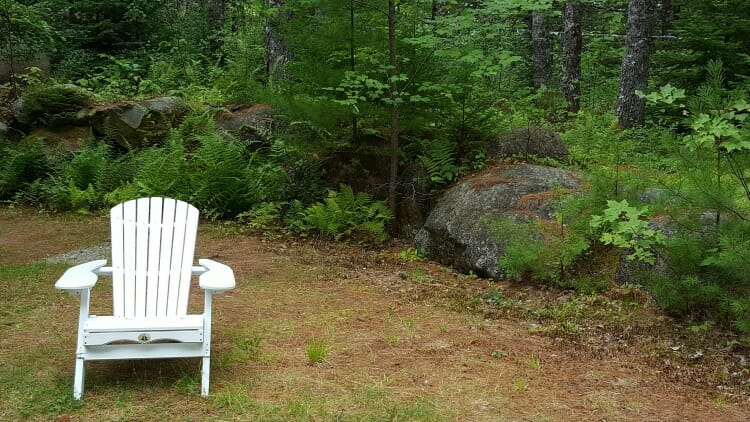 photo, image, muskoka chair, first solo road trip
